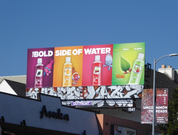 Sparkling Ice water Trolls billboard