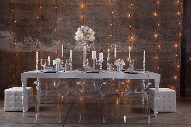 Glamorous Winter Wonderland Wedding Inspiration Belle