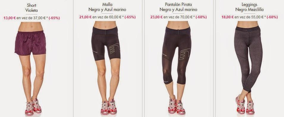 Shorts y mallas para mujer