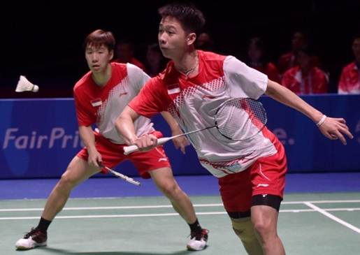 Semifinal New Zealand Open Grand Prix Gold 2016
