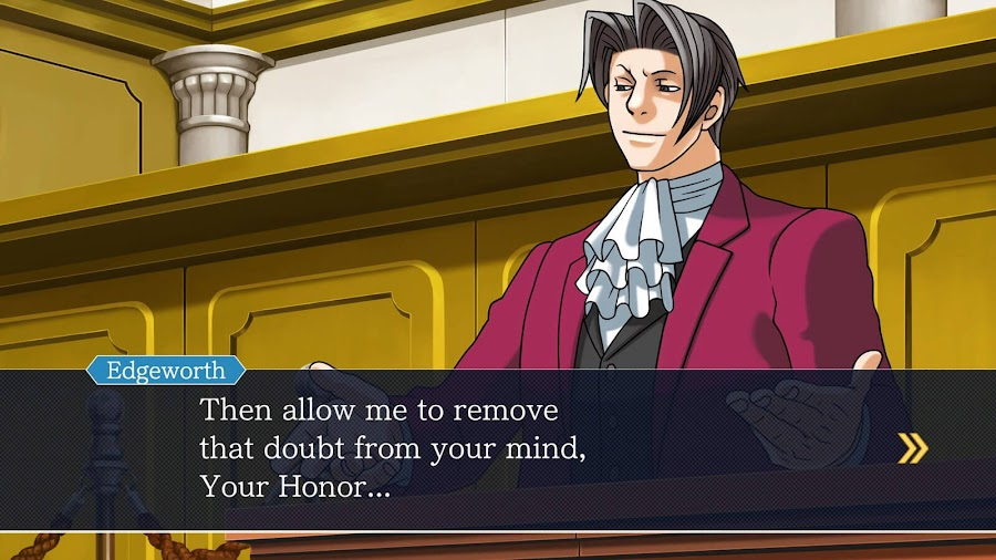 phoenix wright ace attorney trilogy capcom prosecutor miles edgeworth