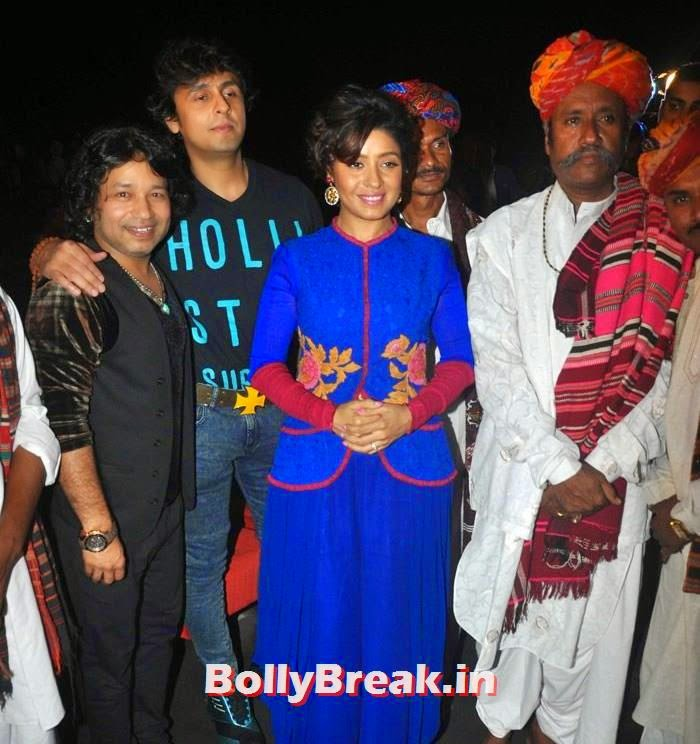 Kailash Kher, Sonu Nigam, Sunidhi Chauhan, Pics from 'Rang Rasiya' Music Launch