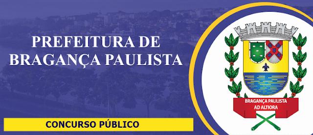 APOSTILAS Concurso Prefeitura de Bragança Paulista-SP: 2018