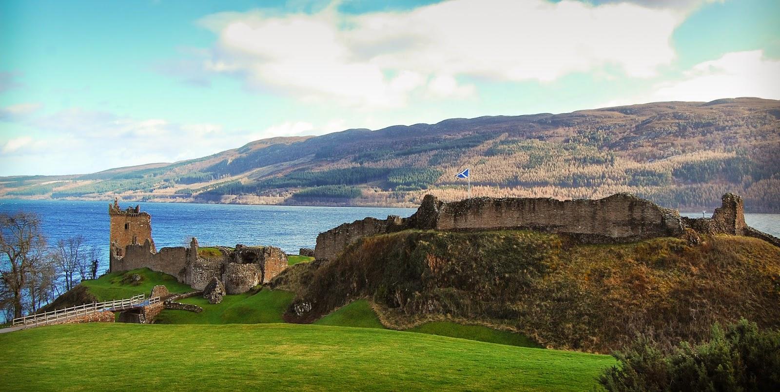 Urquhart Castle; Highlands, Scotland