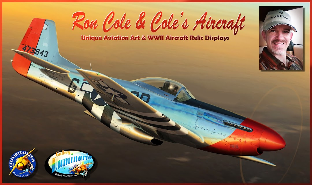 Aviation Art of Ron Cole & Cole's Aircraft