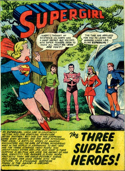 trio of transgendered superheroes comics