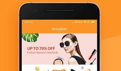 Groupbaz App Refer Earn - Refer Friends & Get PayTM Cash