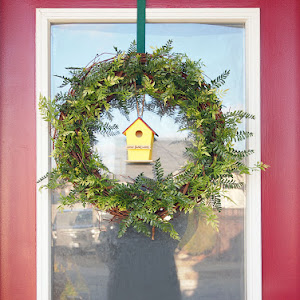 {DIY} Spring Wreath for the Front Door