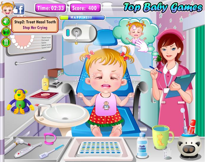 Baby Hazel Zahnarzt 1