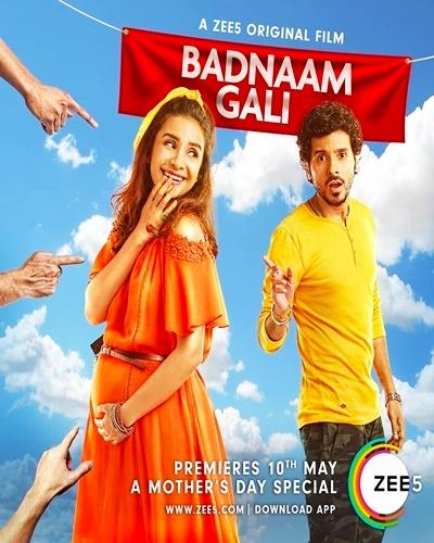 Badnaam Gali 2019 Hindi HDRip 480p 300MB 720p 750MB