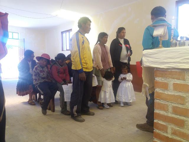 Taufe in Bonete Palca