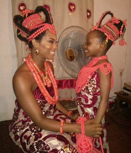 Welcome To Linda Ikeji's Blog: First Photos From Osas And