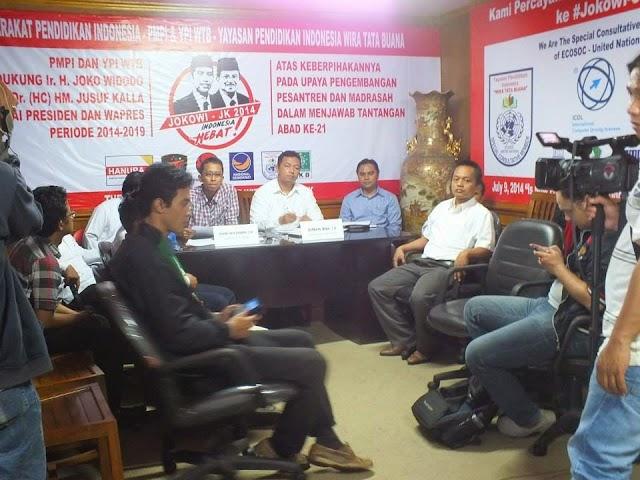 PMPI Yakin Jokowi-JK Jadikan Mutu Pendidikan Madrasah Lebih Baik
