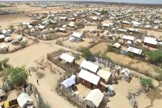 Dadaab camp in Kenya used by Somali refugees for 25 years now.
