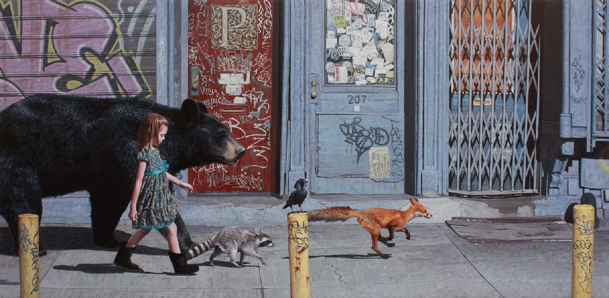 07-Coalition-2-Kevin-Peterson-Children-Exploring-Hyper-Realistic-Paintings-www-designstack-co