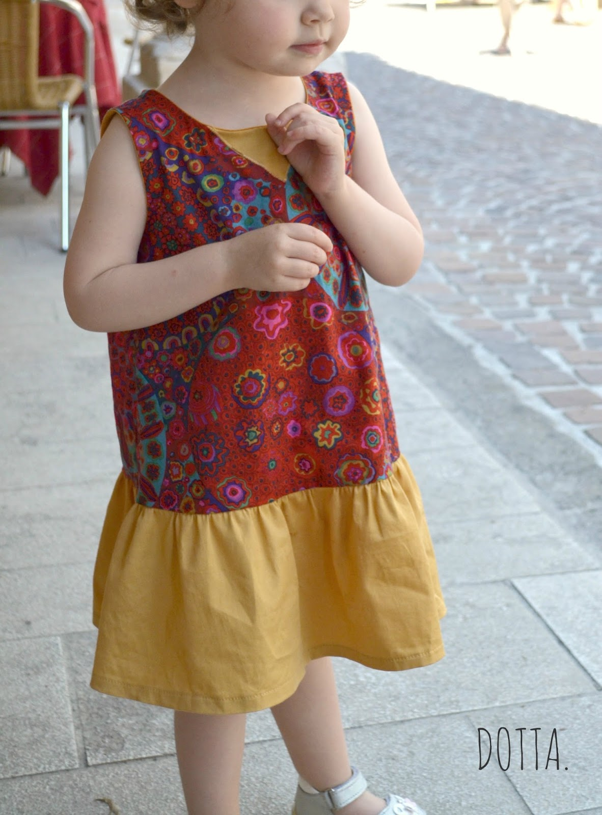 Charlie Dress by Mingo and Grace sewn by Dotta