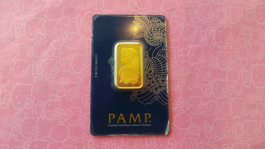 Gold Bar Pamp Suisse 20g 999.9 CIRCULATED