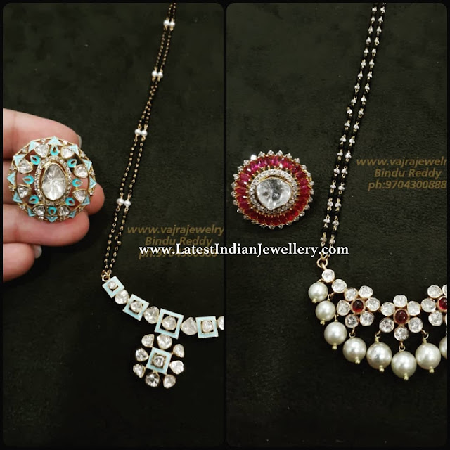Contemporary Black Beads
