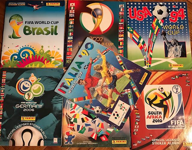 Album figurine Panini Mondiali
