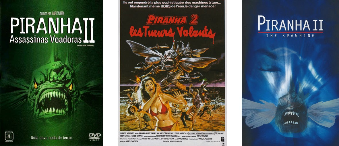 Piranha Part Two: The Spawning - Pirania 2 Latający Mordercy (1981)