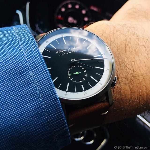 Eoniq Alster custom automatic wrist shot