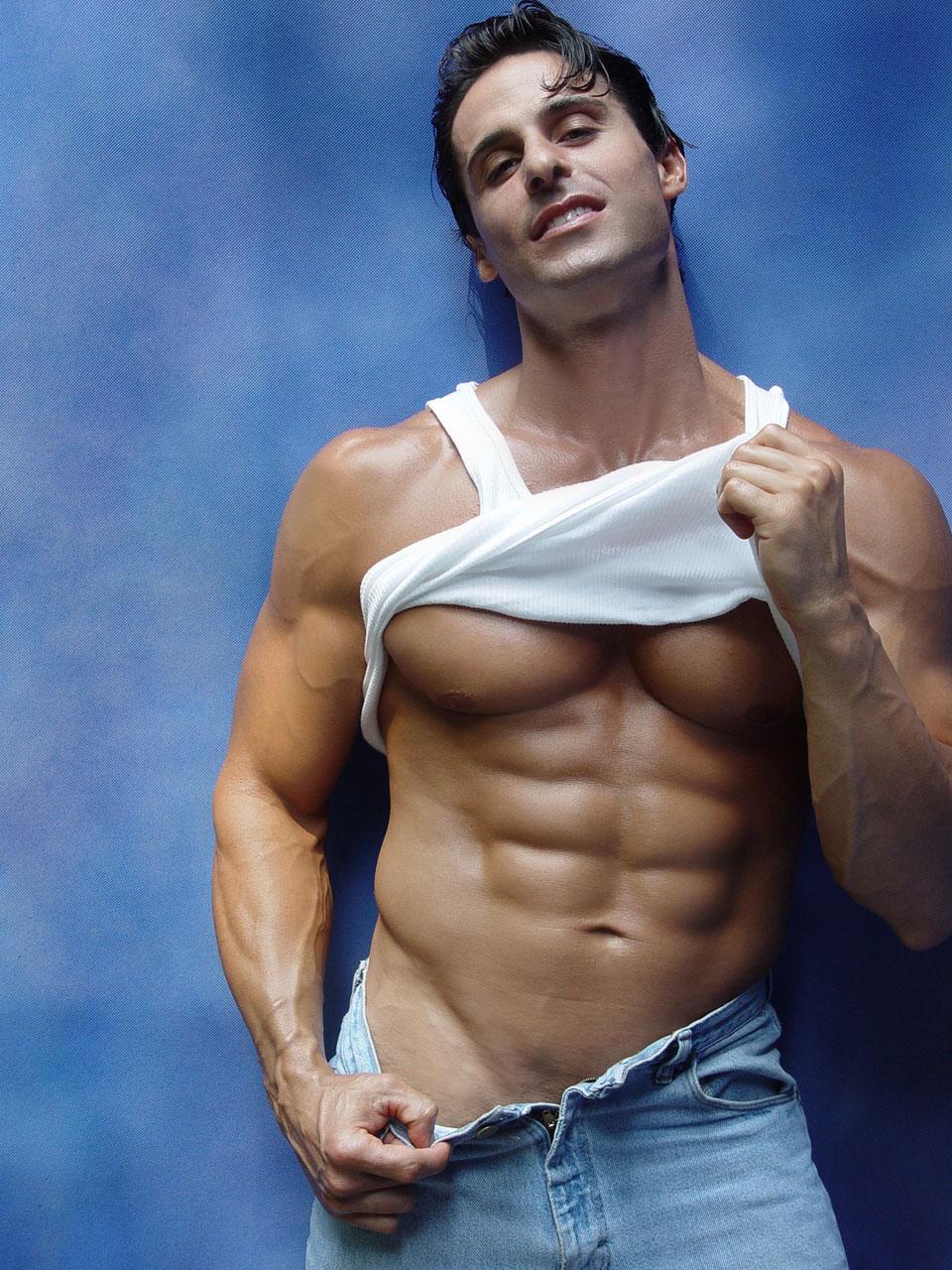 hot sweaty women exercising naked