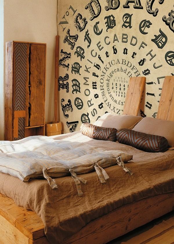 Pegatinas o murales para decorar una pared de manera muy imaginativa decoracion de dormitorios - Pegatinas para decorar ...
