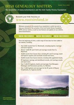 http://www.rootsireland.ie/2018/08/irish-genealogy-matters-newsletter-no-2/