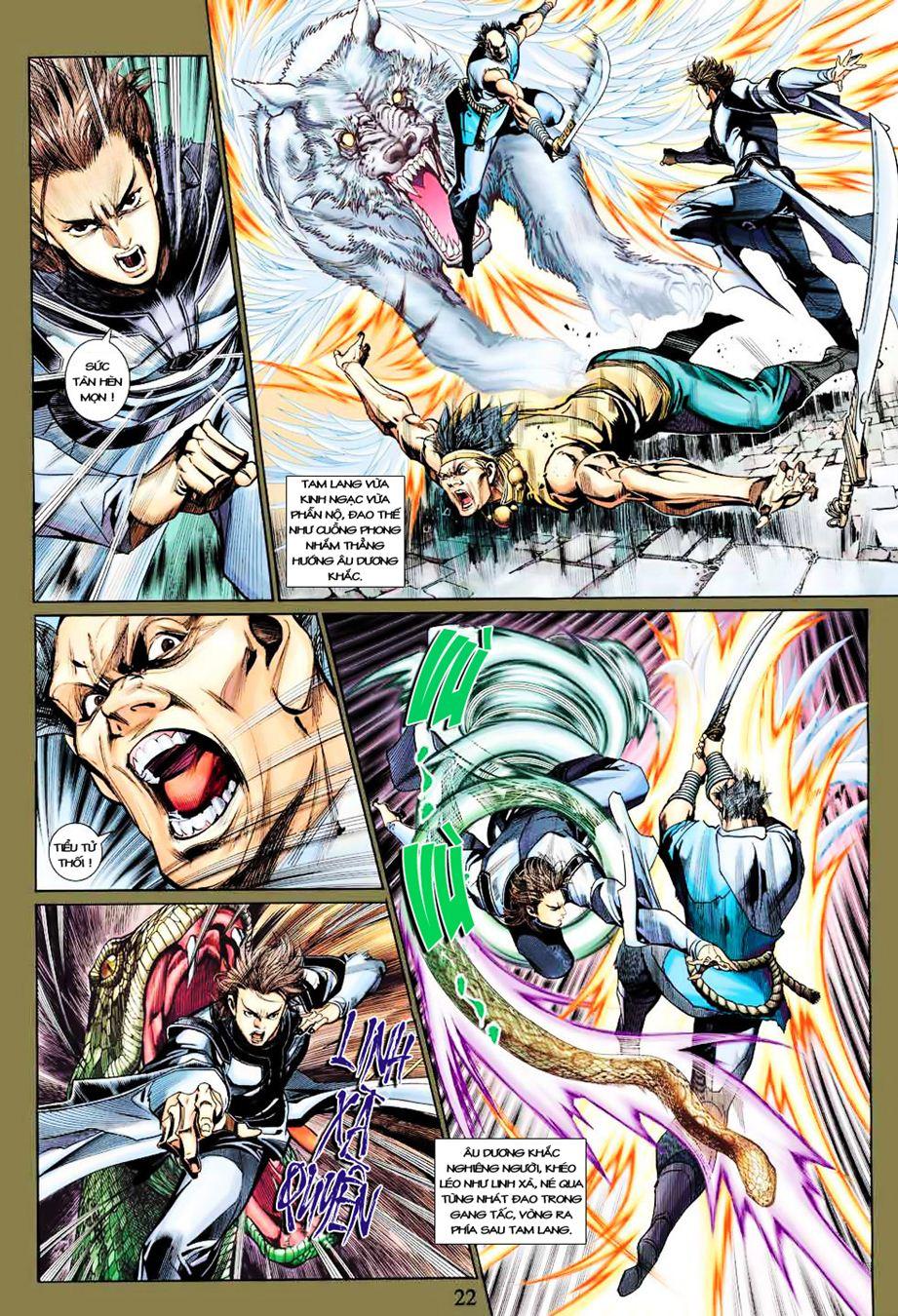 Anh Hùng Xạ Điêu anh hùng xạ đêu chap 35 trang 22