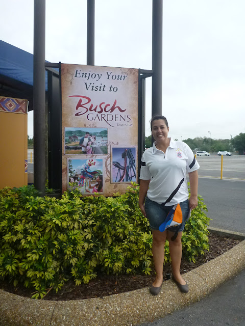 entrada do busch gardens
