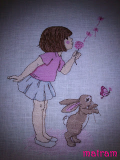 Make a wish cross stitch