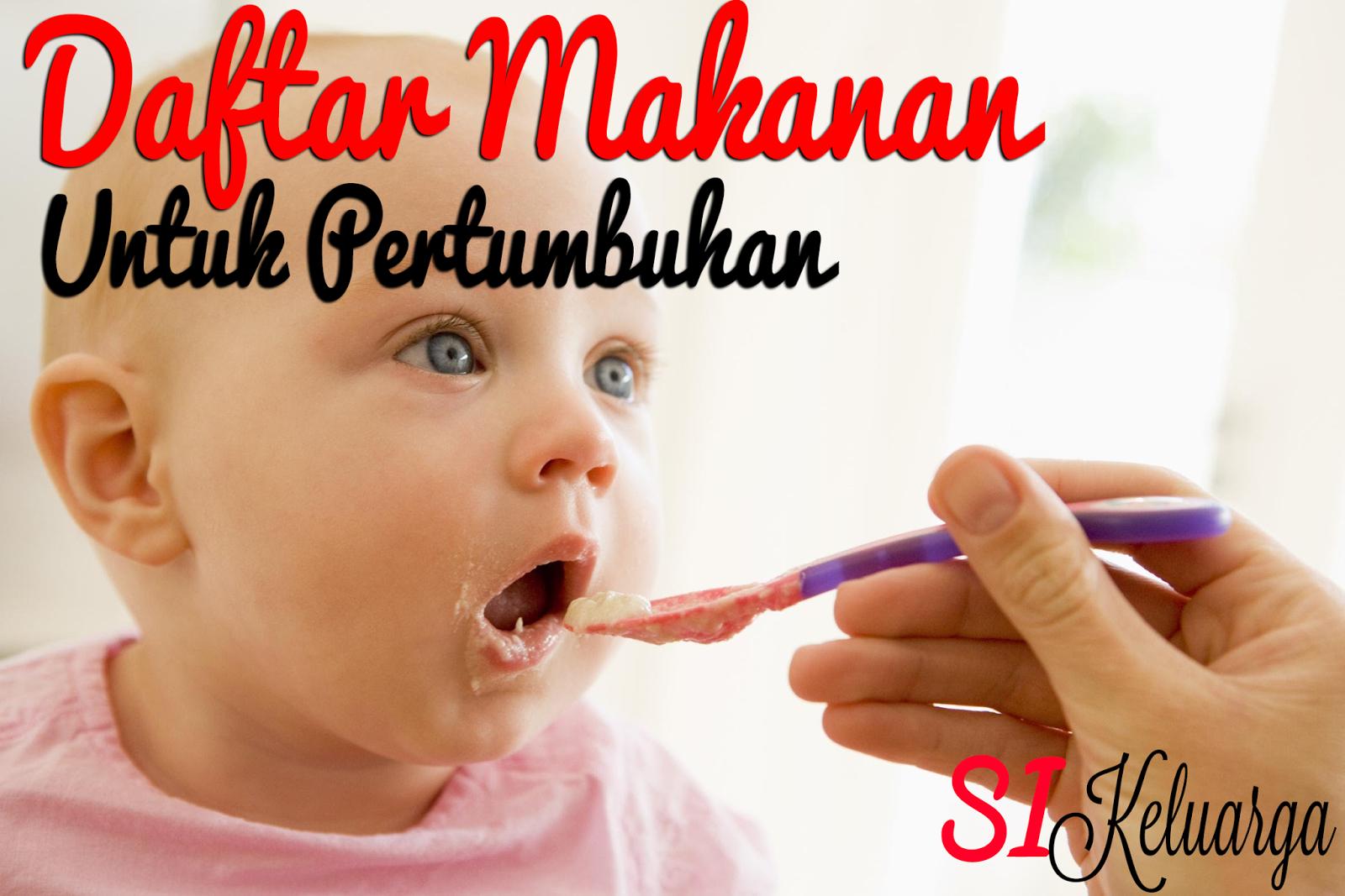 Daftar Makanan Yang Baik Untuk Pertumbuhan Anak