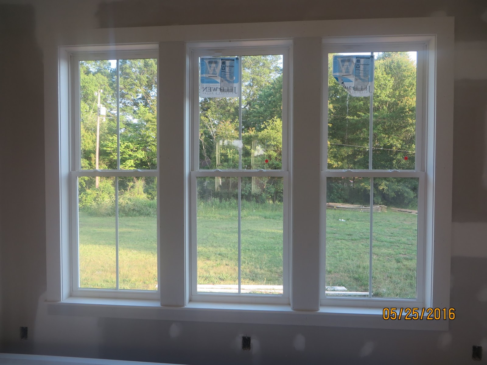 The rogers home interior window trim for Interior windows