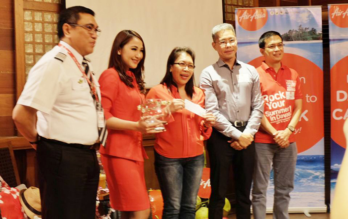 Davao Digital Influencers at AirAsia new flights launch in Davao