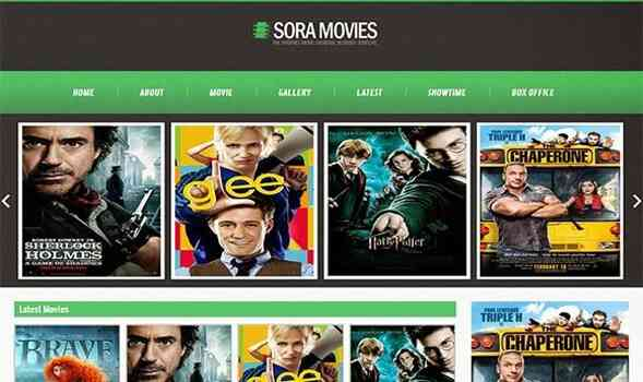 Sora Movies - Responsive Movies Blogger Templates for Blogspot