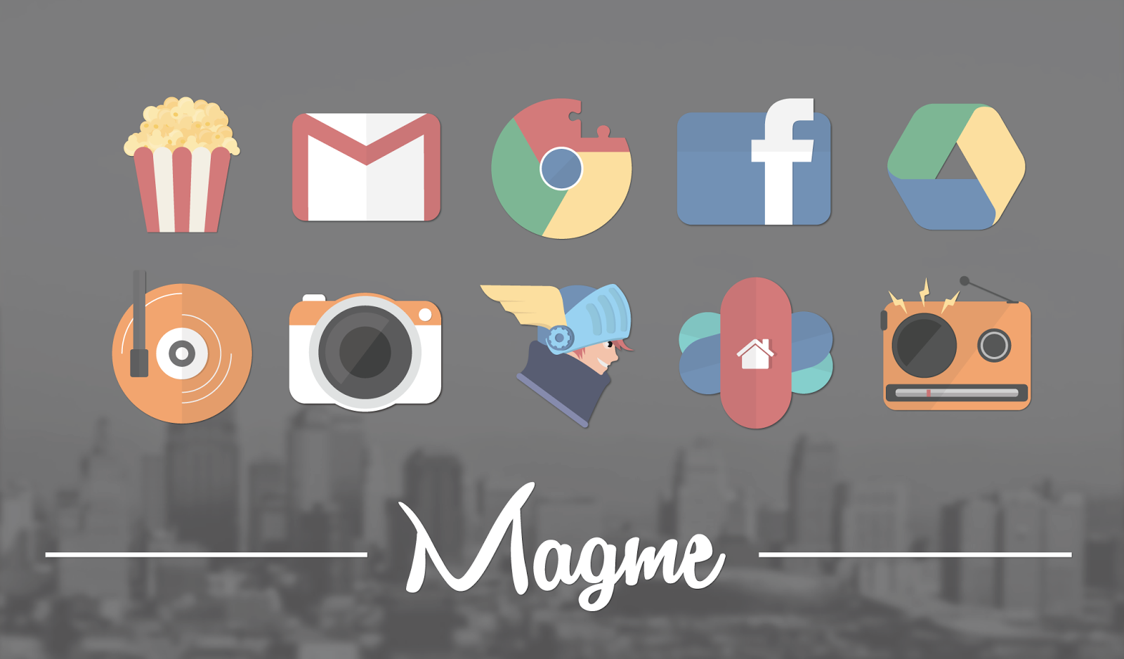 Image result for Magme – Icon Pack apk