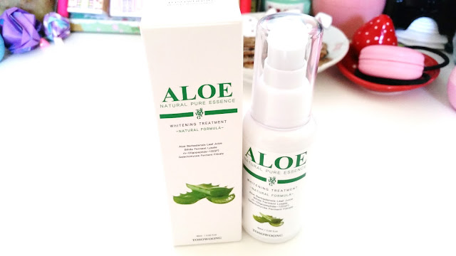 Aloe Natural Pure Essence packaging