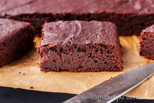 brownie bez czekolady