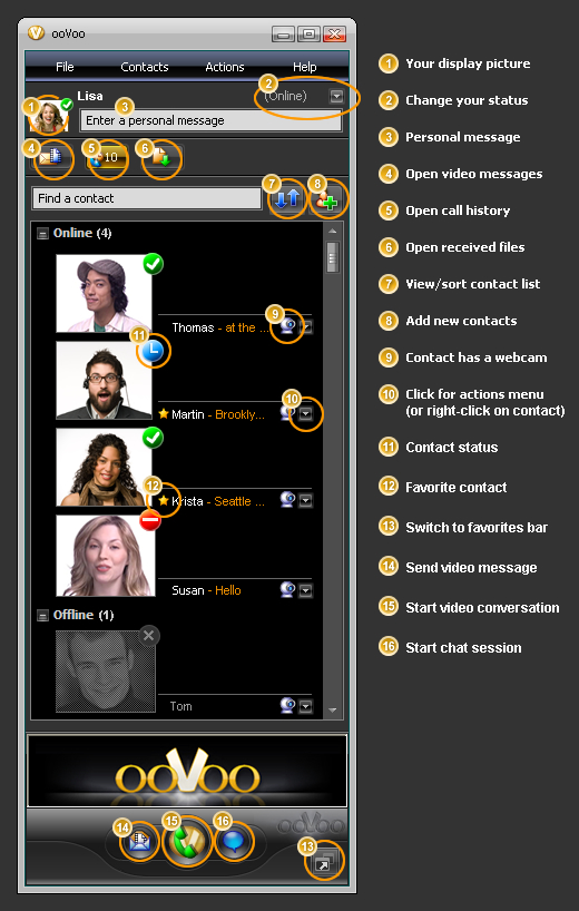 Direct download of oovoo messenger ~ Beginners computer courses
