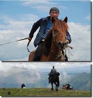 Bernard Grua, expédition dans les monts Saïan, Sibérie