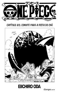 One Piece 813 Mangá Português leitura online