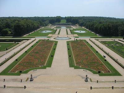 Los Jardines de Vaux le Vicomte