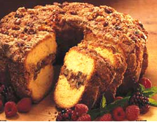 Jewish Coffee Cake With Coconut