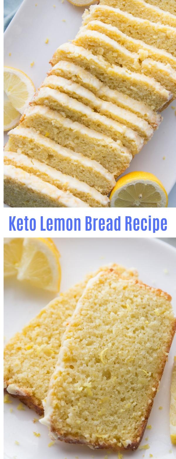 Keto Lemon Bread Recipe