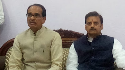 Old CM MP Shivraj singh chaouhan and old minister mp rajendra shukla