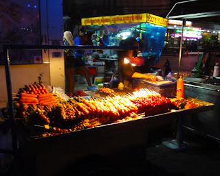 Bangkok simple street food