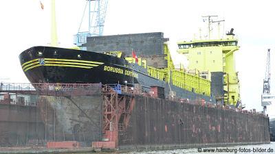 Hafenrundfahrt Hamburg Schiff Borussia Dortmund