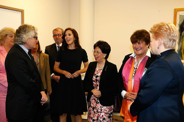 Crown Princess Mary of Denmark, as patron for WHO Europe, attended 65th session of the WHO (World Health Organization) Regional Committee Meeting