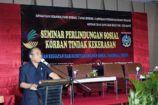 Wagub NTB Buka Seminar Sosial Korban Tindak Kekerasan