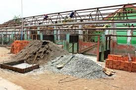 Pembangunan SMAN 1 Cibuaya Diduga Bermasalah
